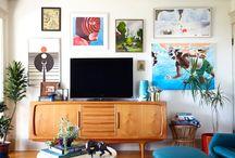 Living room ideas / by Megan Shuster