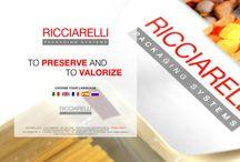 Website Ricciarelli S.p.A. /  Restyling sito Ricciarelli S.p.A.
