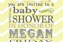 Baby Shower Time!  / by Kristin Farrar