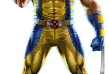 superhero draws