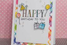 Basteln Geburtstagskarten 3
