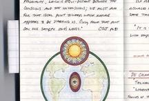 Notebook sketching / Draw moleskine journal art
