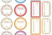 Printable Food Labels