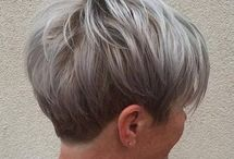 Silver Pixies / Lovely pixie cuts and colour