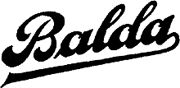 Balda / Balda was a German maker based in Dresden. It was founded in 1908 and took the name Balda-Werk Max Baldeweg in 1913. After the war, Balda was nationalized in East Germany in 1946, while its founder Max Baldeweg fled to West Germany to start Balda-Werk Bűnde. (Camerapedia)