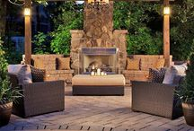 Outdoor Fireplace Designs / Amazing outdoor fireplace designs for your backyard.