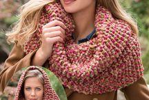 Knitting cowl