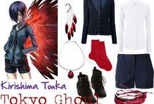 Tokyo ghoul outfitek