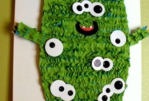 monster party ideas / Monster birthday party ideas.  Little monster baby shower ideas.