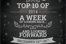 check out our top 10's of 20114 all week long