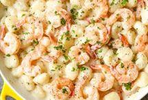 shrimp and gnocchi parmesan sauce
