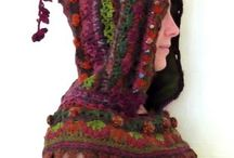 CROCHET, KNIT & EMBRIODRERY / inspired by mother nature, Native American and Waldorf / by Ancient Amber <<