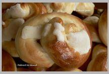 Sós sütemények Habverő és fakanál
