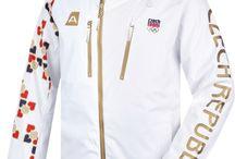 Olympijská kolekce Sochi 2014 / Kompletní produktová řada pro české sportovce a fanoušky na ZOH v Sochi 2014
