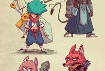 Characters - Cartoon