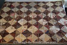 Antique Quilts-Pieced