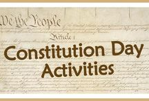 Constitution Day / Great ideas for Constitution day! Learn more about the United States Constitution and have fun while doing it! Great for Elementary teachers and home school parents.