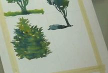 Watercolor techniques and tutorials