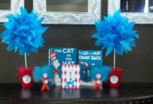 Thing 1 and Thing 2's third birthday party!! / by Holly Grover Brandon