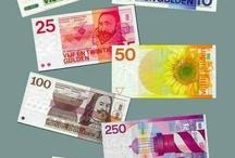 Visiebord Geld / Geld in overvloed
