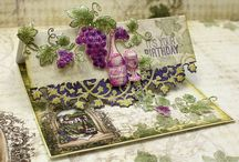 Italiana Riviera Collection / The beautiful Italiana Riviera Collection designed with luscious landscapes, juicy grapes and blooming leaves. A collection of 6 stamp sets, 2 dies and matching designer papers featuring greens and purples.