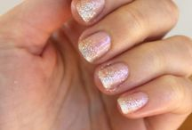 DIY Wedding Nails and Makeup / Perfect your bridal look with wedding inspiration for manicure ideas and wedding makeup looks.