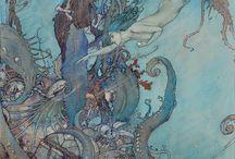 edmund dulac mermaidedmumd dulac