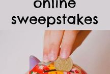 Earn Money At Home / Ways to earn money at home whether it be prizes from Sweepstakes, giveaways, or Twitter parties, blogging, or other various ways to make money at home.
