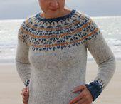 strikkegensere og jakker
