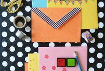 Envelope decorating