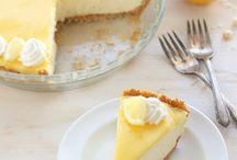 Lemon pie / Mousse