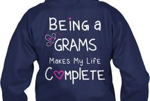Being a Grandma Makes my Life Complete / Being a grandma makes my life complete.  Meme, Mimi, Memaw, Gammy, Grams, Gigi, Mema / by Designs by Cali Kay
