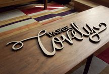 Beautiful wooden signs / Signs made using CNC and hand carved.