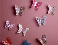 Papillon chambre