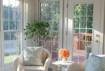 sunroom / by Jennifer Ellett-Kelley
