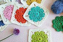 baby crochet square
