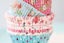 Cupcake baking cups.
