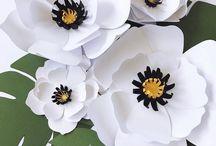 цветы -поделка