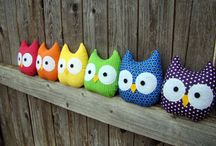 Crafty Owls / All sorts of owl arts and crafts I love.