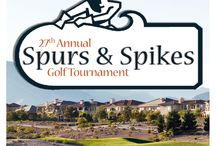 27th Annual Spurs & Spikes Golf Tournament / December 13, 2013 at Badland Golf Club in Las Vegas, NV.