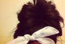 bun swag styles / by Mixed Girlswagg