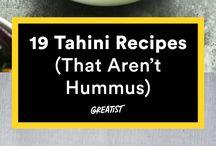 Tahini Recipe