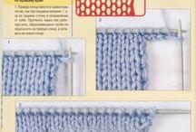 nahození oček při pletení