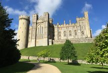 Arundel Castle / Arundel Castle, west Sussex, is an ancient castle stately home and gardens dating back to 1067. The private residence of the Duke of Norfolk and open to the public.
