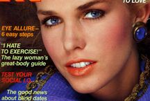 1981 Cosmopolitan, Elle, Vogue and other Magazine Covers