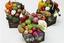 Флористика: Использование овощей и фруктов
