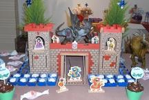 Festa do Dragão / Festa de aniversário com o tema dragão ou medieval