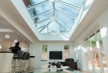 Skylights / Light and spacious is how we want our homes to feel, and with the addition of an UltraSky roof light you can achieve both. Whether installed on a new build extension, orangery or inserted into an existing flat roof, this stylish solution is available in a wide range of rectangular sizes up to 4m x 6m, and colours including white, anthracite grey and satin black.