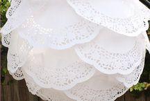 paper lantern doilies