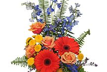 Unique Tropical Designs / Add a sizzle to any special occasion with one of these stylish arrangements of brightly-colored tropicals. Featuring birds of paradise, pincushion proteas, oncidium orchids, anthuriums, calla lilies, leucadendron, ginger and dendrobium orchids.